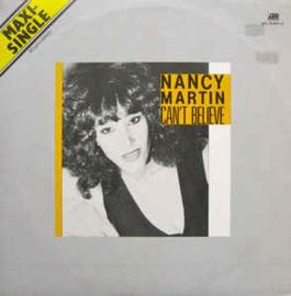 """Nancy Martin – Can't Believe (12"""" Single) T20"""