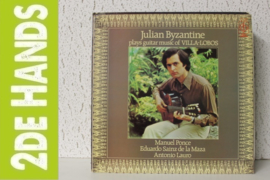 Julian Byzantine - Plays Guitar Music Of Villa-Lobos (LP) F10