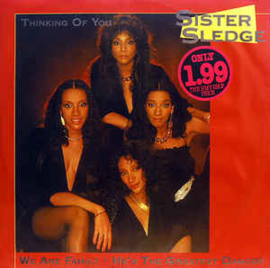 """Sister Sledge – Thinking Of You (12"""" Single) T20"""