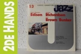 "Harry ""Sweets"" Edison / Jerome Richardson / Ray Brown / Larry Bunker – I Giganti Del Jazz 53 (LP) C40"
