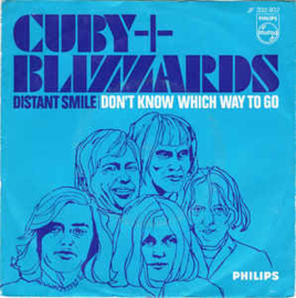 """Cuby + Blizzards – Distant Smile / Don't Know Which Way To Go (7"""" Single) S60"""