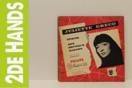 """Juliette Greco – Greco Chante Ses Derniers Succès (10"""") F70"""
