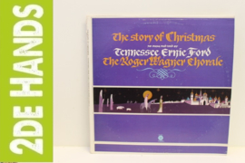 Tennessee Ernie Ford, The Roger Wagner Chorale ‎– The Story Of Christmas  (LP) J50