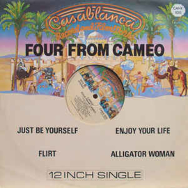 "Cameo ‎– Four From Cameo (12"" Single) T20"
