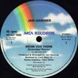 "Jan Hammer – Miami Vice Theme (12"" Single) T20"