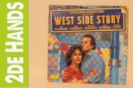 Leonard Bernstein - Kiri Te Kanawa · José Carreras · Tatiana Troyanos · Kurt Ollmann · Marilyn Horne – West Side Story (2LP) A30