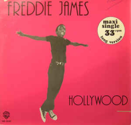"Freddie James ‎– Hollywood / Crazy Disco Music (12"" Single) T20"