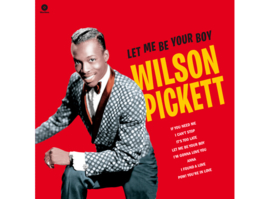 Wilson Pickett – Let Me Be Your Boy - The Early Years, 1959-1962 (LP)