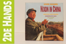 John Adams / Alice Goodman, Orchestra Of St. Luke's, Edo de Waart ‎– Nixon In China (An Opera In Three Acts) (3LP box) A30