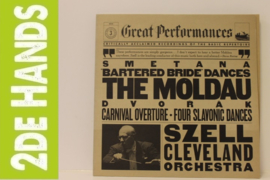 The Moldau, Three Dances From The Bartered Bride / Carnival Overture - Four Slavonic Dances (LP) K40