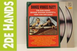 Rob Hoeke Boogie Woogie Quartet, Hein van der Gaag – Boogie Woogie Party (2LP) F70