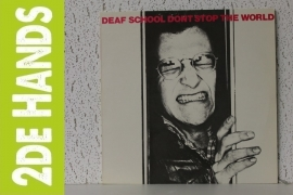 Deaf School ‎– Don't Stop The World (LP) C70