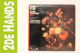 Brahms, Julius Katchen , with Jean-Pierre Marty ‎– Brahms Piano Works Vol. 5, Hungarian Dances Volumes 1 & 2 (LP) K10