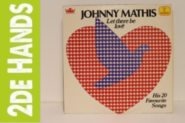 Johnny Mathis ‎– Let There Be Love - His 20 Favourite Songs (LP) D40