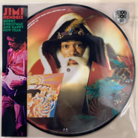 Jimi Hendrix ‎– Merry Christmas and Happy New Year (PICT DISC)
