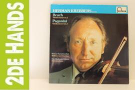 Herman Krebbers – Bruch,. Vioolconcert No. 1 Paganini, Vioolconcert No. 1 (LP) J10