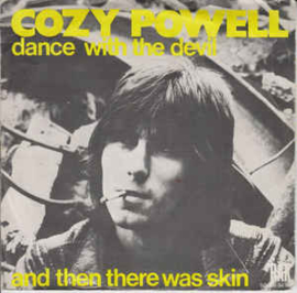 """Cozy Powell – Dance With The Devil (7"""" Single) S10"""