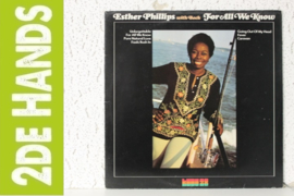 Esther Phillips With Beck ‎– For All We Know (LP) A60