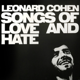 Leonard Cohen ‎– Songs Of Love And Hate (LP)