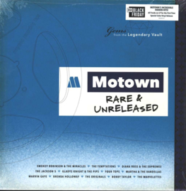 Various ‎– Motown Rare & Unreleased - Gems From The Legendary Vault (LP)