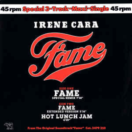 "Irene Cara ‎– Fame (Special Remix) (12"" Single) T20"