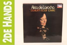 Scarlatti, Soler / Alicia De Larrocha – Seven Sonatas / Six Sonatas (LP) A60