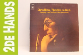 Chris Hinze ‎– Sketches On Bach(LP) H50