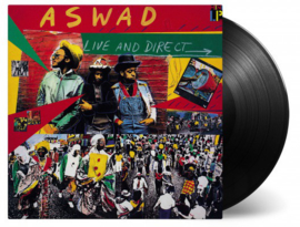 Aswad ‎– Live And Direct (LP)