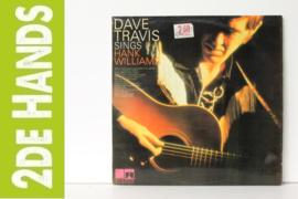 Dave Travis - Sings Hank Williams (LP) E80
