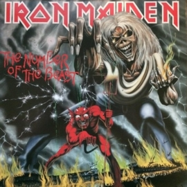 Iron Maiden - Number of the Beast (LP)