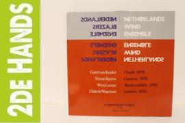 Netherlands Wind Ensemble - Geert van Keulen / Tristan Keuris / Wim Laman / Diderik Wagenaar - Chords / Capriccio / Musica Subtilior / Liederen (LP) C90