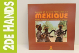 Various – Danses Et Chants Populaires Du Mexique (LP) D10