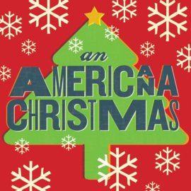 Various ‎– An Americana Christmas (LP)