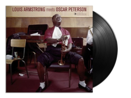 Louis Armstrong - Meets Oscar Peterson -LTD- (LP)