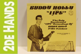 "Buddy Holly ‎– Buddy Holly ""Live"" (LP) H20"