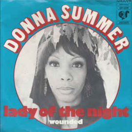 """Donna Summer – Lady Of The Night (7"""" Single) S90"""