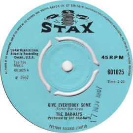 """Bar-Kays – Give Everybody Some / Don't Do That (7"""" Single) S90"""