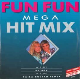 """Fun Fun – Mega Hit Mix (12"""" Single) T30"""