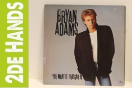 Bryan Adams ‎– You Want It, You Got It (LP) E30