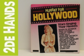 Various ‎– Hurray For Hollywood - Stars Singing Their Filmhits  (LP) H80