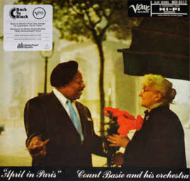 Count Basie Orchestra ‎– April In Paris (LP)