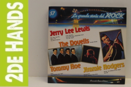 Jerry Lee Lewis / The Dovells / Tommy Roe / Jimmie Rodgers (LP) H40