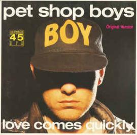 "Pet Shop Boys - Love Comes Quickly (Original-Version) (12"" Single) T30"