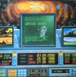 """Iron Maiden – Wasted Years (12"""" Single) T20"""