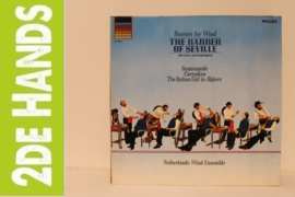 Netherlands Wind Ensemble ‎– Rossini For Wind 'The Barber Of Seville' (Overture And Highlights) (LP) A10