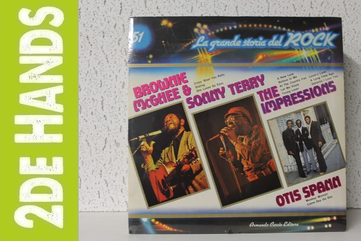 Brownie McGhee & Sonny Terry / The Impressions / Otis Spann (LP) D50