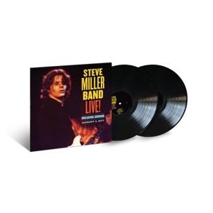 Steve Miller Band - Live!: Breaking Ground August 3, 1977 (2LP)