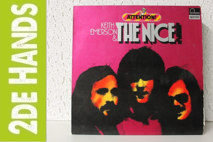 Keith Emerson & The Nice ‎– Attention! Keith Emerson & The Nice (LP) C90