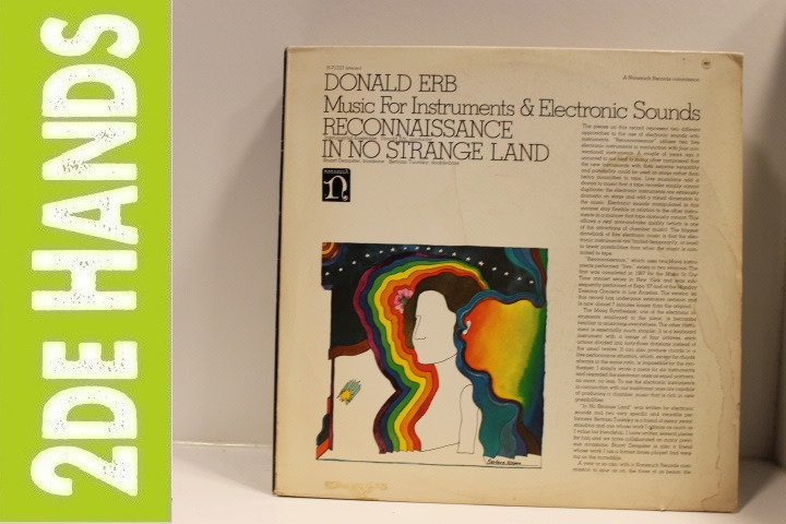 Donald Erb ‎– Music For Instruments & Electronic Sounds (LP) F20