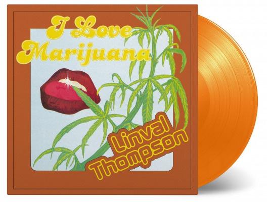 Linval Thompson - I Love Marijuana (LP)